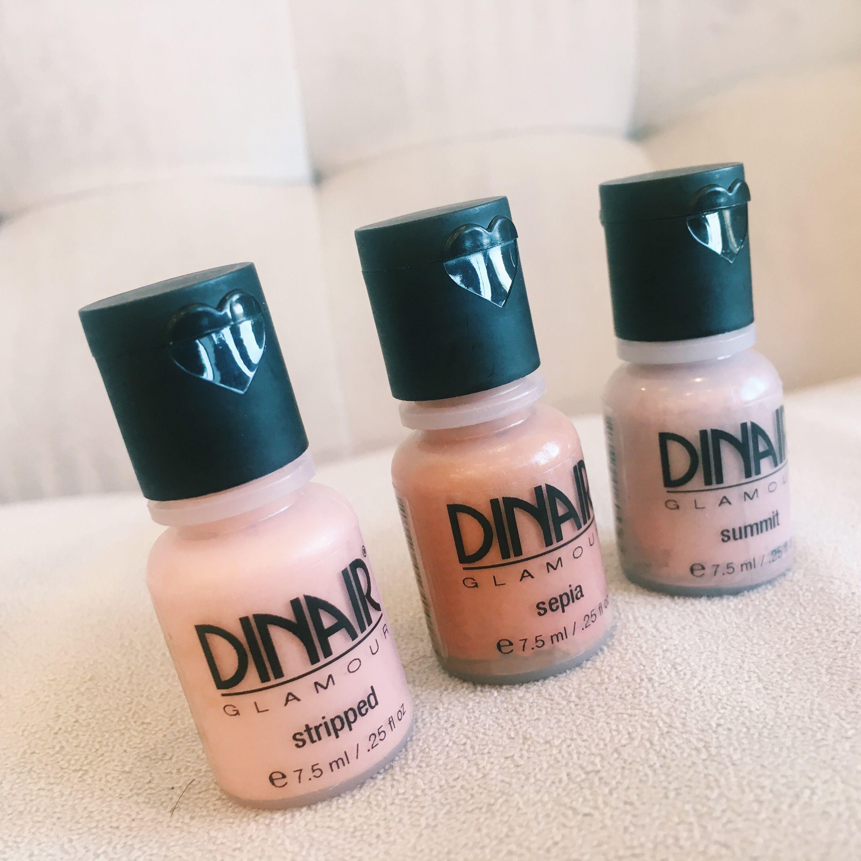 Glamour Nudes! DINAIR PRODUCTS Airbrush makeup kit