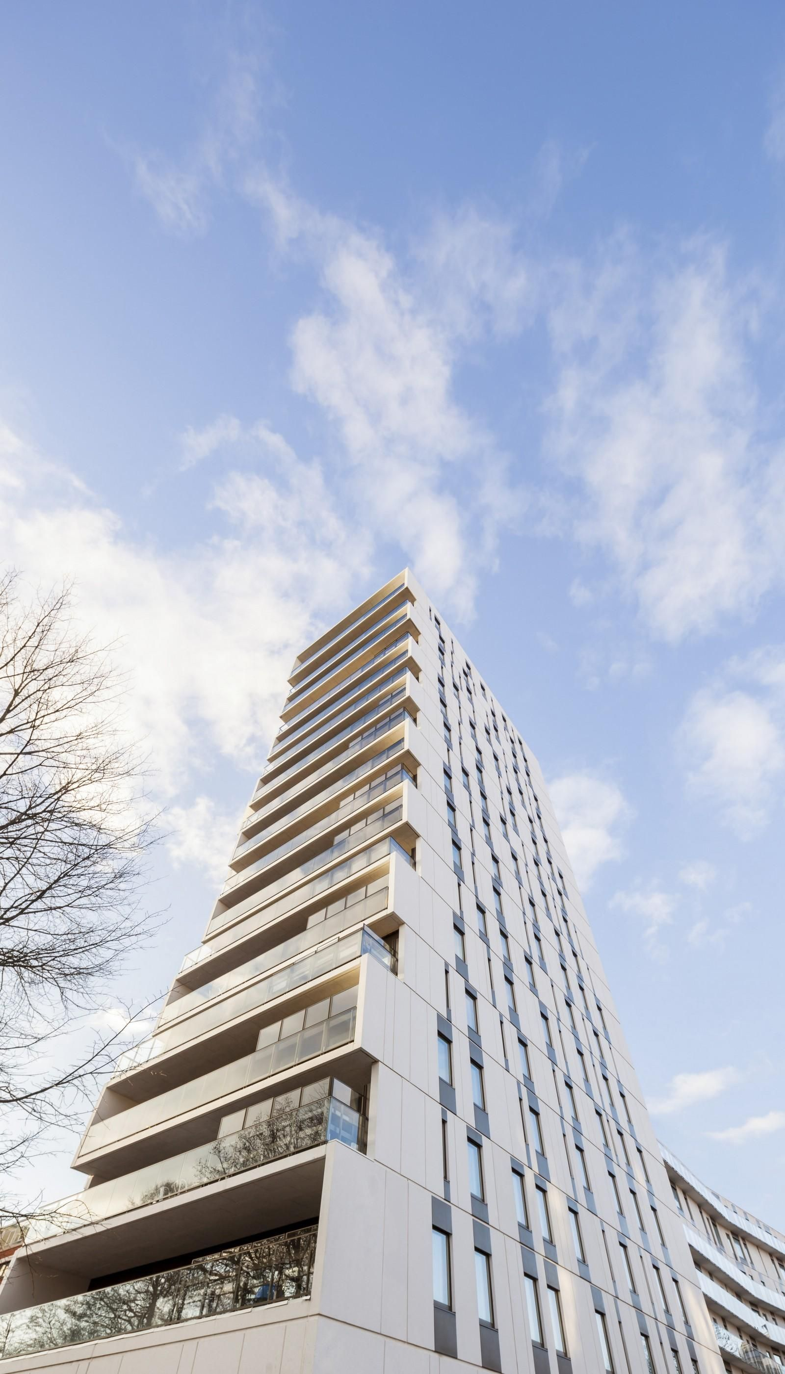 Alvik Tower in Stockholm by C.F. Møller Architects