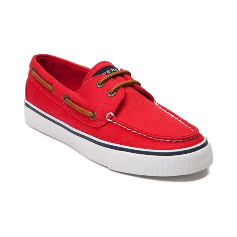 red canvas bahamas sperrys- journeys