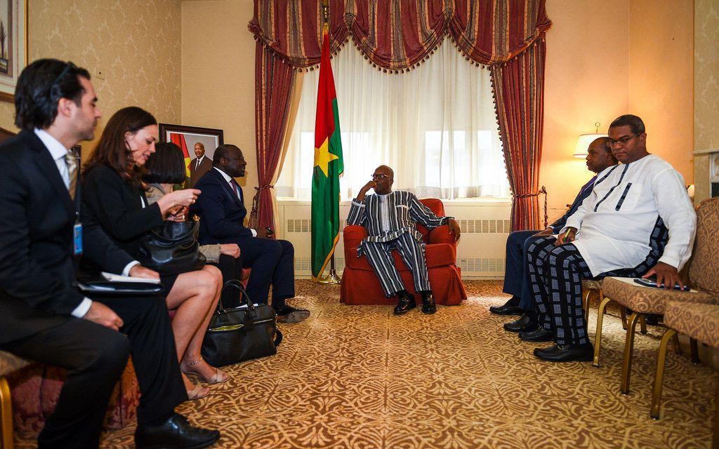 Roch Kaboré, le président du BurkinaFaso, était bien allé