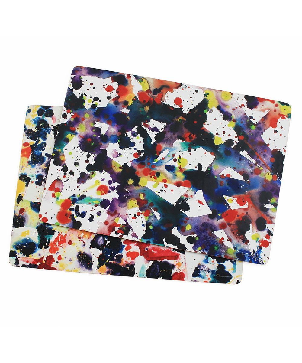 Corkboard Placemat Set X Sam Francis Placemats Placemat Sets Cork Board