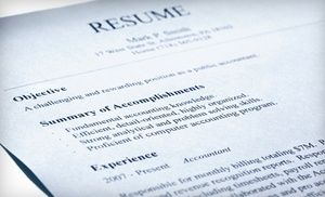 Groupon Resume Groupon  $ 75 For A Professional Resume Editing And Cover Letter