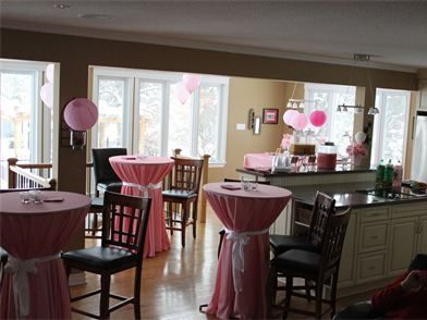 The perfect pink baby shower for a  special mommy to be