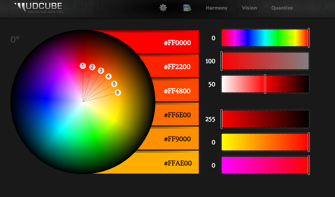 http://mudcu.be/sphere/ color theory visualizer | Design Resources ...