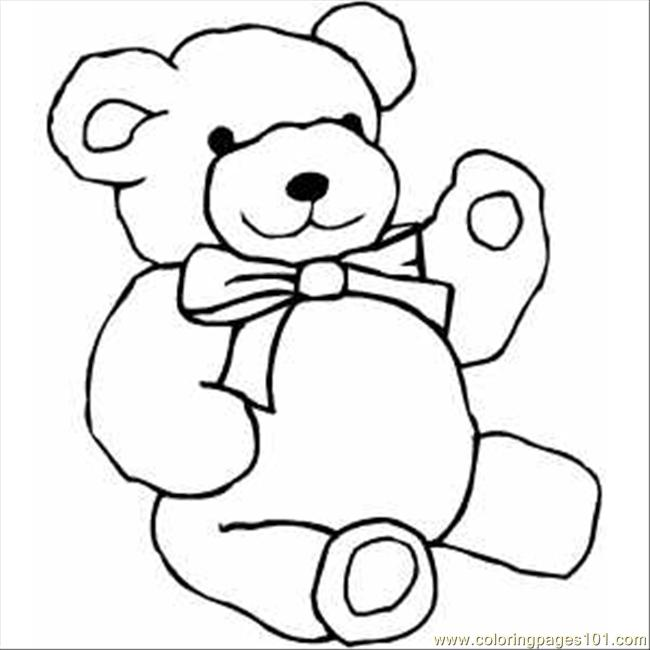 Free Line Drawing Teddy Bear, Download Free Clip Art, Free