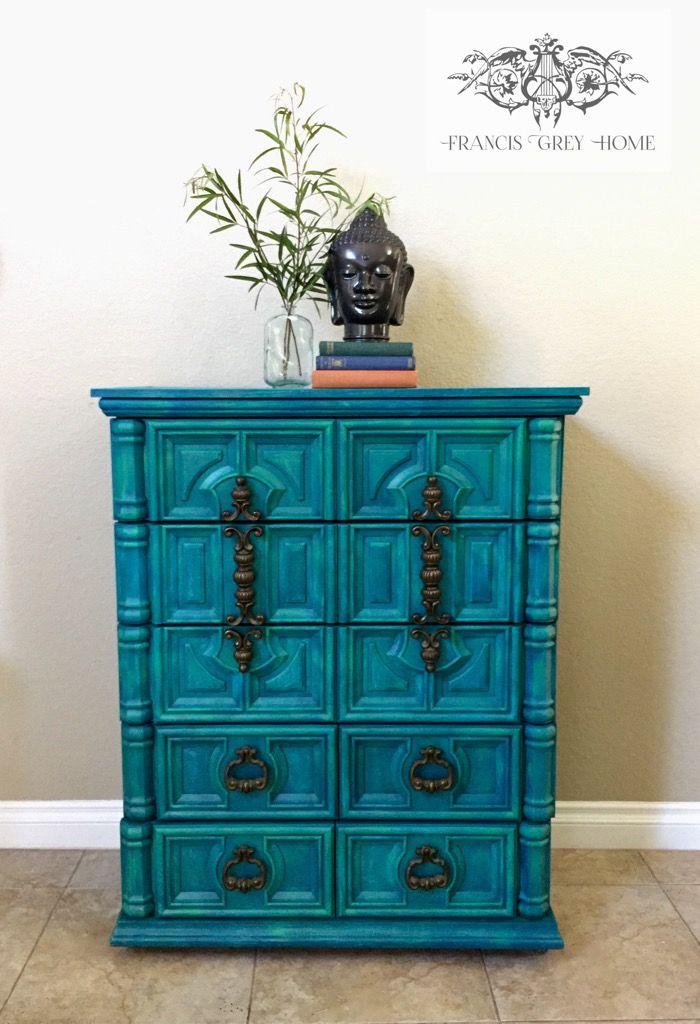 Painted Dresser Boho