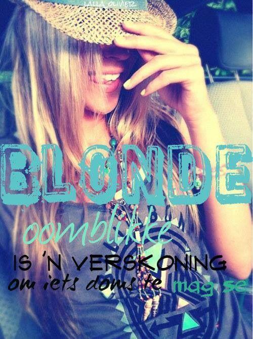 #blondeliefde:-P ❤