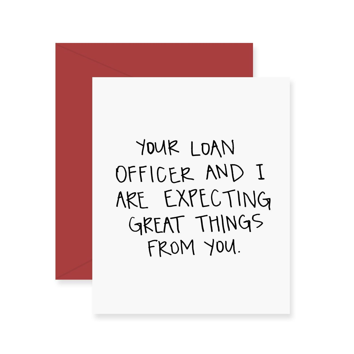 Loan Officer Graduation Greeting Card In 2018 Loans Home