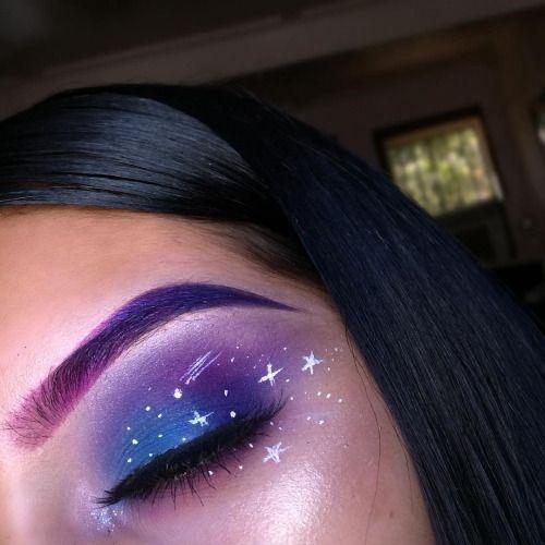 Pinterest Damageddani With Images Galaxy Makeup