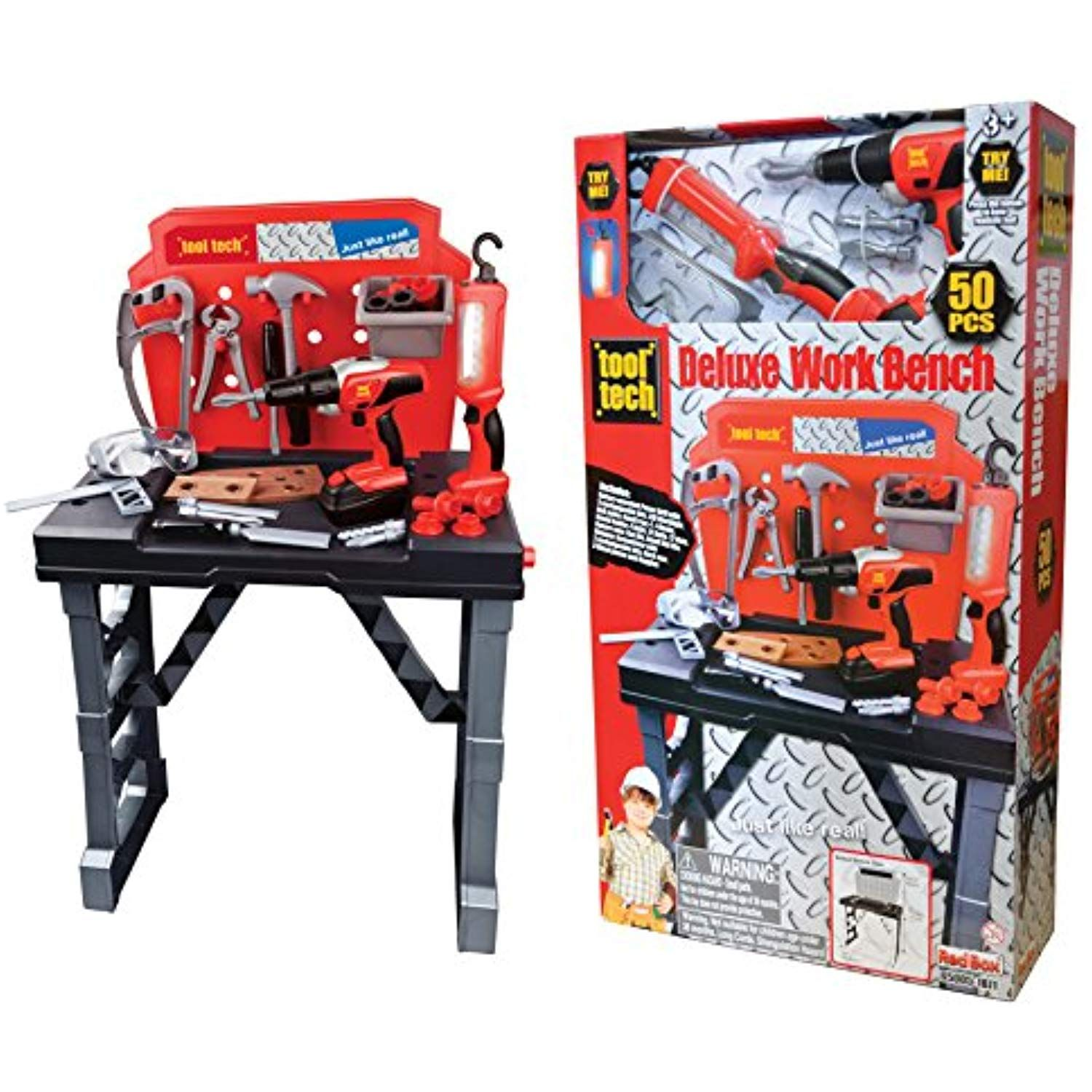 Redbox Toys 65005 Work Bench With Power Drill Mutli Colored You Can Find Out More Details At The Link Of The Image This I Workbench Buy Tools Power Drill