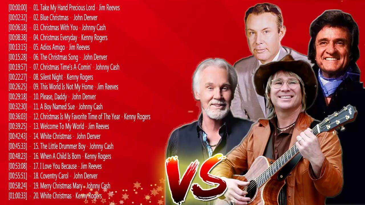 Kenny Rogers, John Denver, Johnny Cash, Jim Reeves : Christmas Album ...
