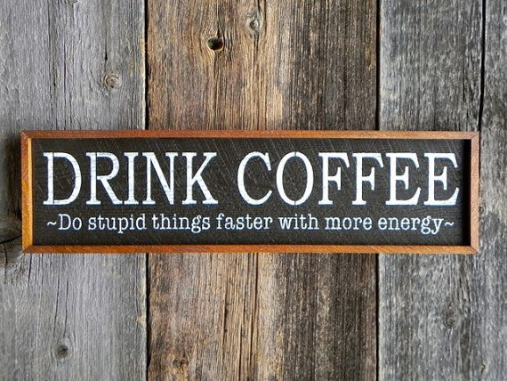 Wall Signs Decor Amusing Handmade Wood Signs Cafe Signs Kitchen Signs And Wall Decor Design Decoration