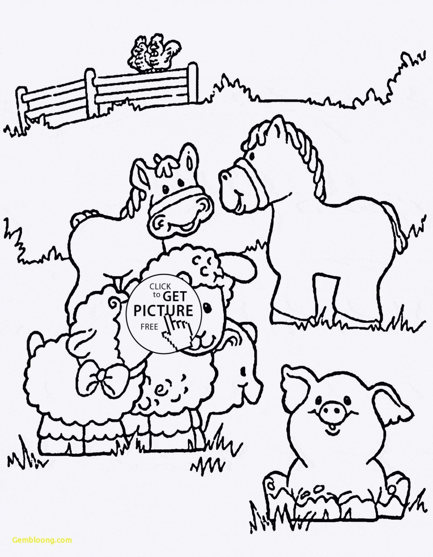 Coloring Pages Farm Animals Coloring Pages Farm Animal Coloring Sheets New Farm In 2020 Farm Coloring Pages Animal Coloring Pages Horse Coloring Pages