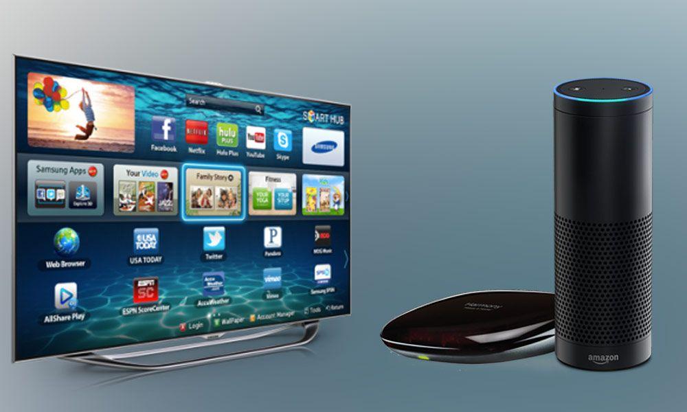 How to Control Smart TV with Amazon Echo via Alexa Voice