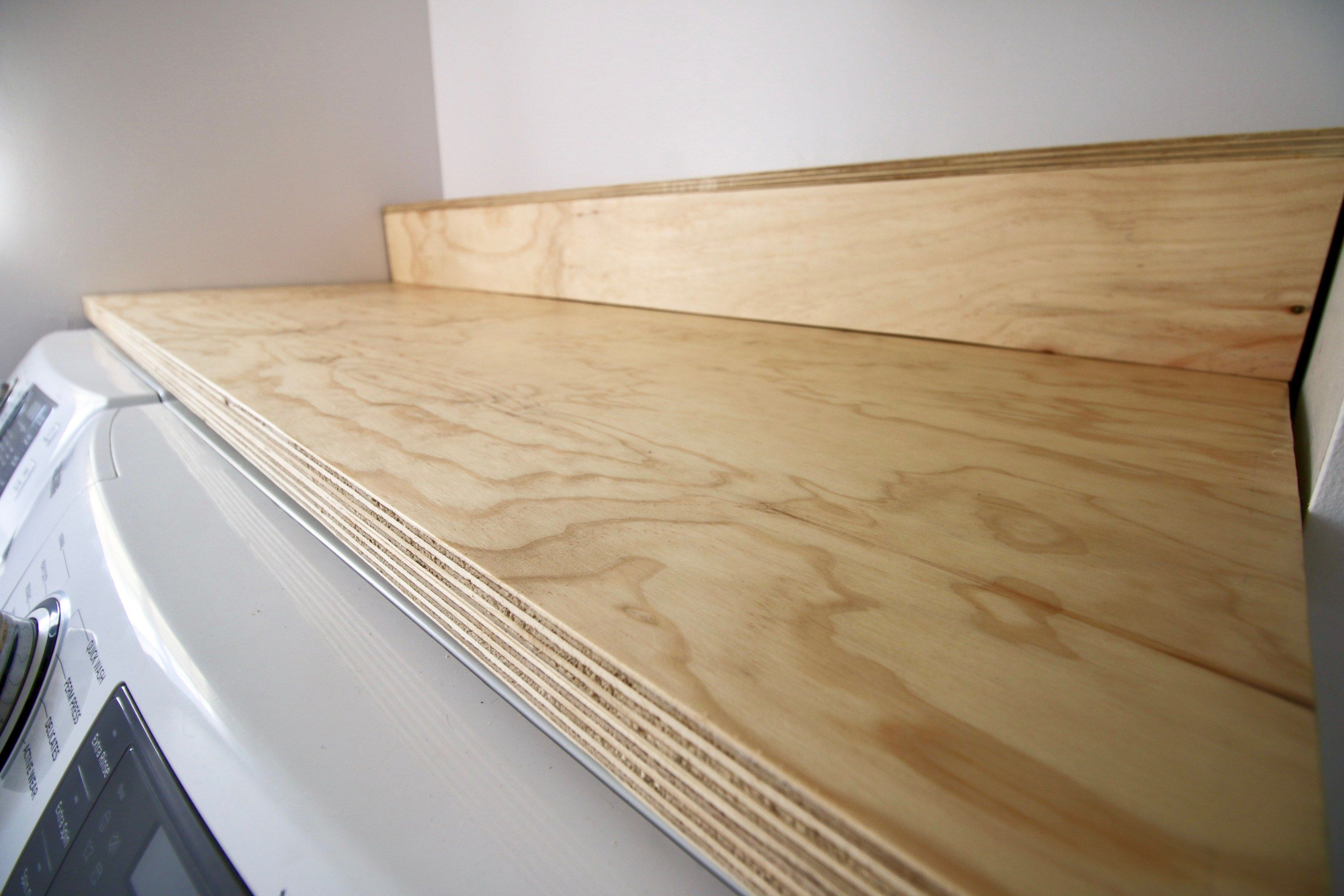 Easiest Diy Plywood Countertop Plywood Countertop Diy