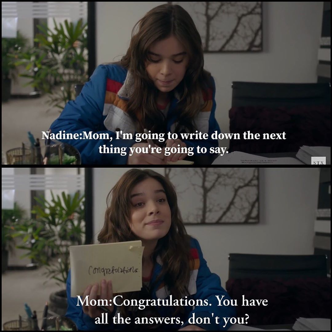 Best Quotes For Guys The Edge Of Seventeen Moviequotes Movies Movie Moviescenes Quotes Film Movie Lines Inspirational Quotes About Love Movie Quotes