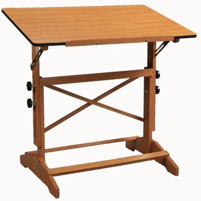 Drawing Table Plans Wood Drafting Table Drafting Table Drawing Table