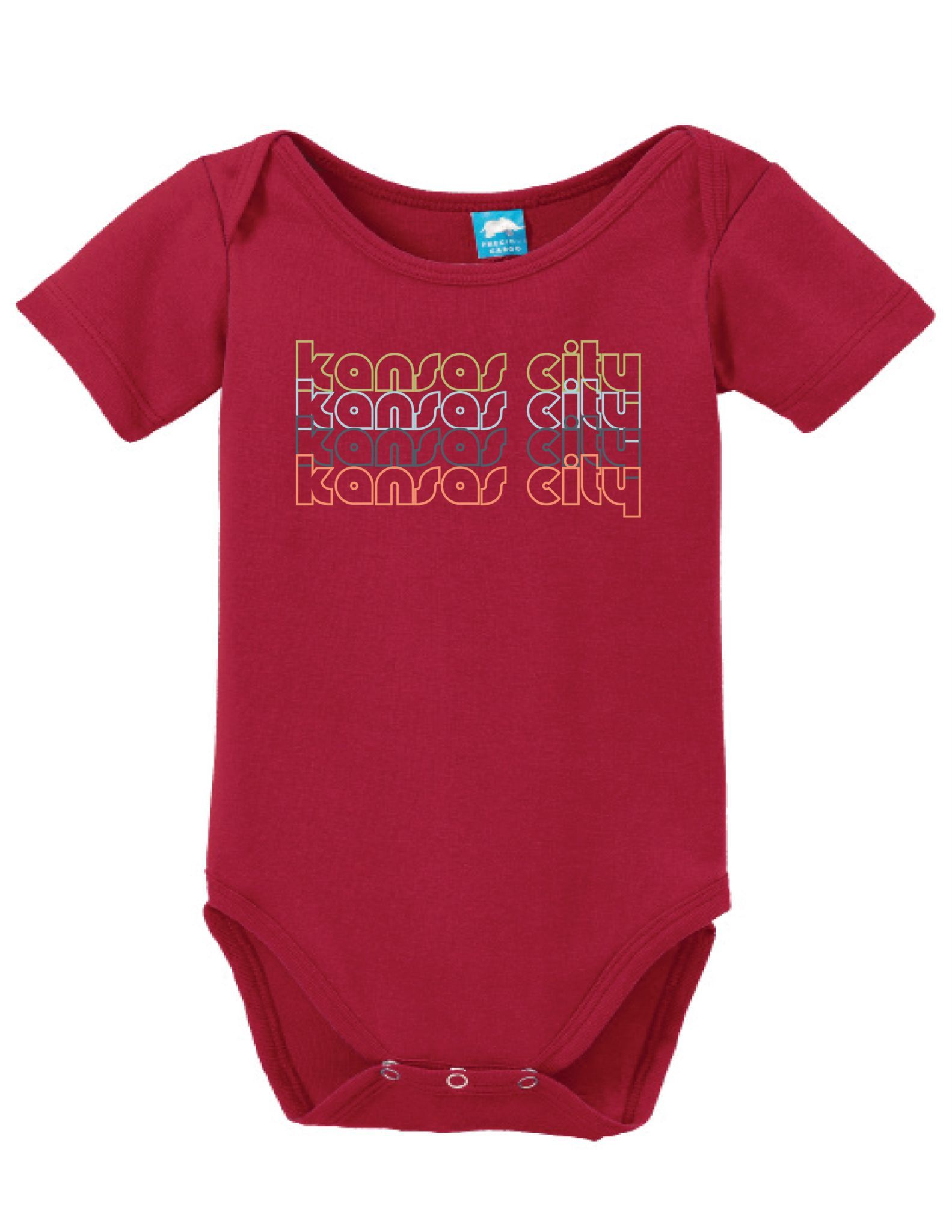 Kansas City Kansas Retro Onesie Funny Bodysuit Baby Romper