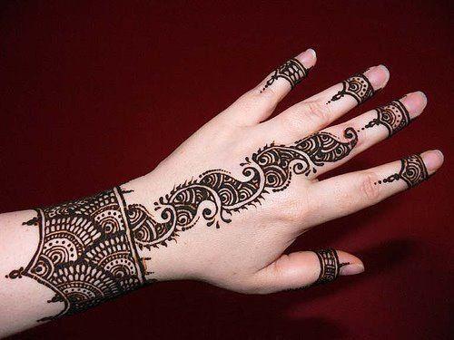 Modern Arabic Mehndi Designs 2014 : Top arabic mehndi designs new 2014 best