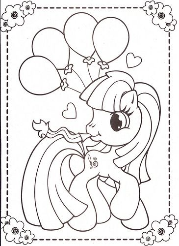 mylittleponycoloringpages45 Pony and Easter