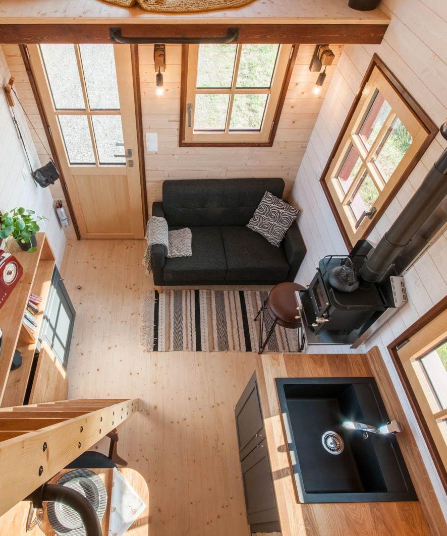 Holz Hisla By Baluchon Best Tiny House Tiny House Design Tiny
