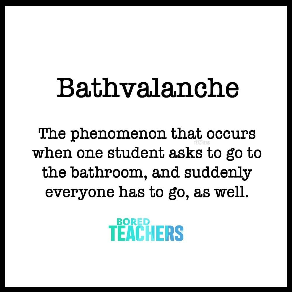20 Vocabulary Words That Only Make Sense to Teachers
