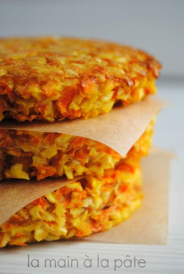 Galettes carottes panais recette voitures - Cuisiner aubergine a la poele ...