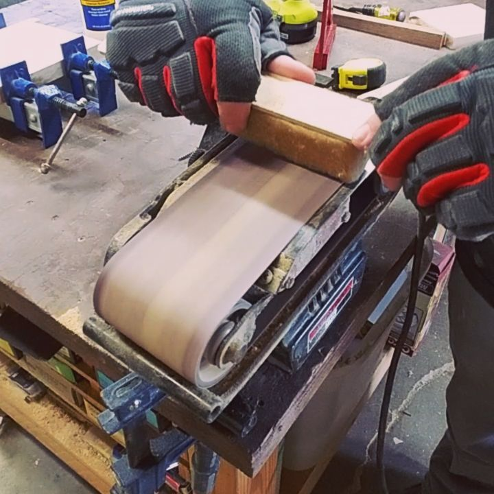Woodward Buildsoh Baby These Little Wax Sandpaper Cleaner Things From Gatorfinishing What Are They Even Called Penny Are Vit Sanding Belt Sander Cleaners