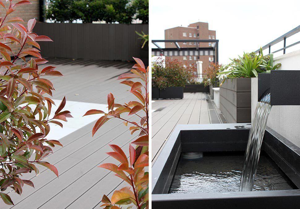 Terraza Con Jardín Para Eventos En Madrid Diseño De