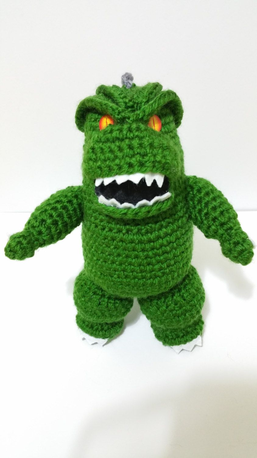 Godzilla plush cthulhu 8 inch japan nuclear horror movie scary godzilla plush cthulhu 8 inch japan nuclear horror movie scary horror amazing crochet doll 2014 remake godzilla horror cthulhu amigurumi geek crochet bankloansurffo Choice Image