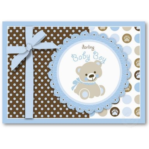 Image result for baby boy cards pinterest