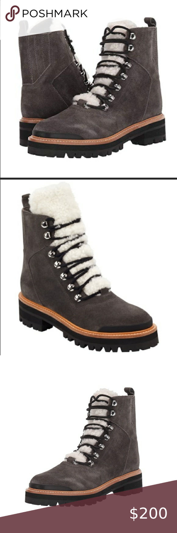 MARC FISHER**IZZIE Gray Suede Boots****$249