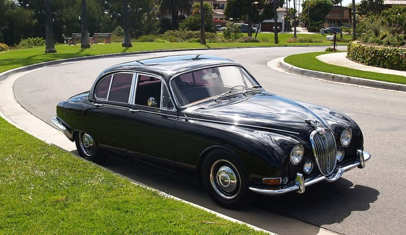 Lovely auto1965 Jaguar Stype If you are interested it is for