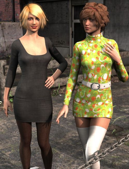 Hip Hop Outfit for M3 | Eveyday Clothing for Daz Studio