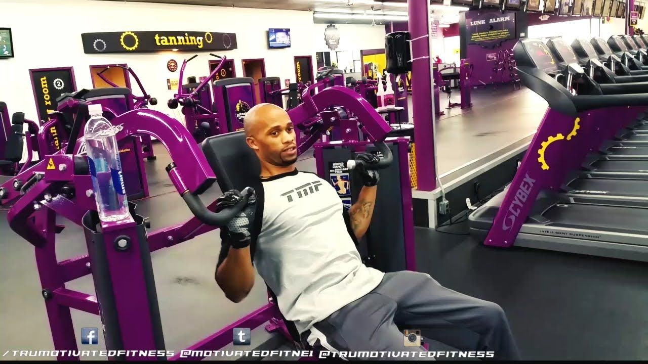 Back And Shoulders Workout At Planet Fitness Trumotivatedfitness Planet Fitness Workout Workout Back And Shoulder Workout