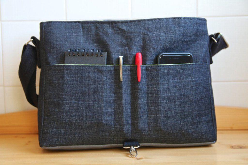 Resultado de imagem para messenger bag pattern | bolsas | Pinterest ...