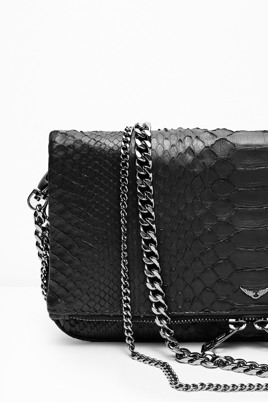 229919e0c3 Pochette Rock Python, noir, Zadig & Voltaire | bags in 2019 | Zadig ...