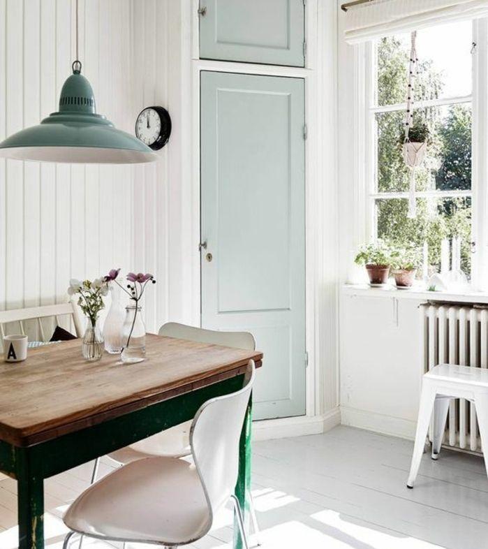 ▷ 1001 + conseils et idées de déco campagne chic fantastique - modele de salle a manger design