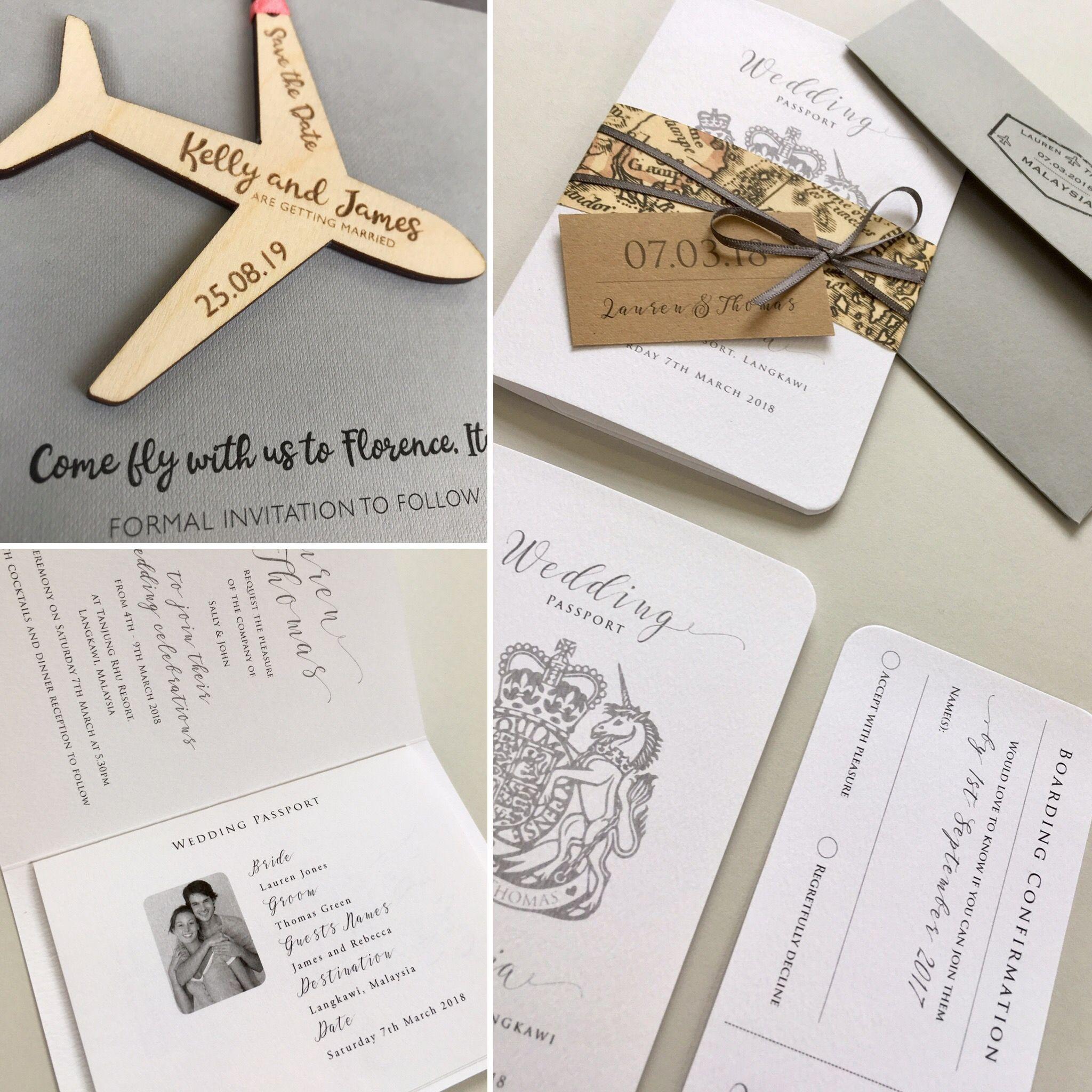 28+ Passport wedding invitations uk ideas in 2021