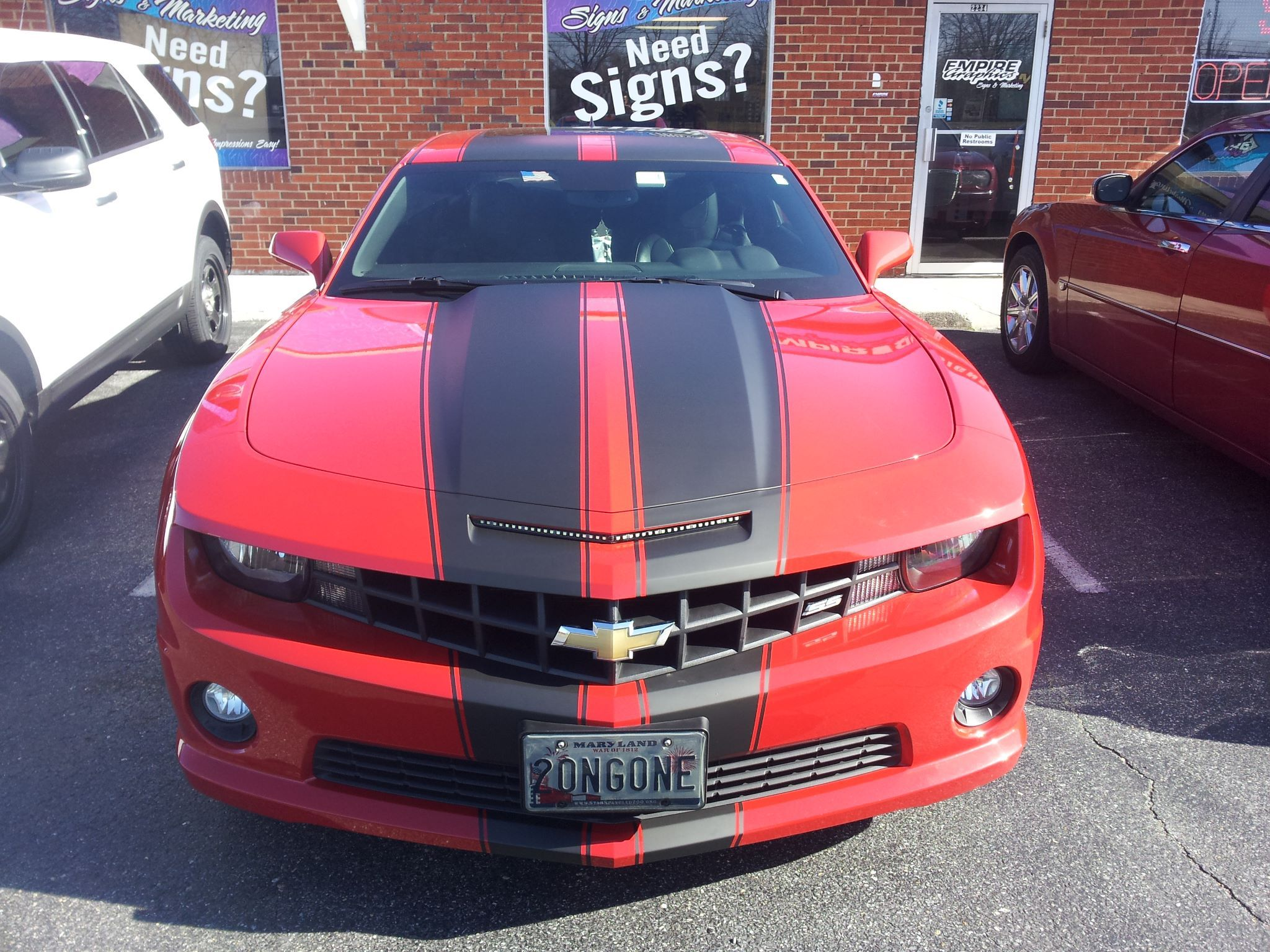 Car custom decals and graphics - Empire Graphics Vinyl Custom Wraps Custom Designs Graphics Graphic Designs