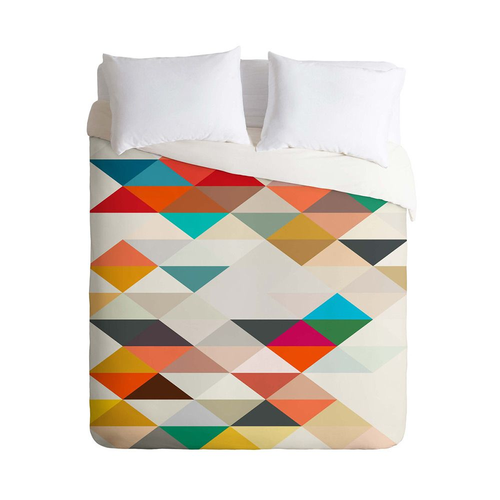 tealight display  bedding collections serendipity and winter bedding - a mix of bold color and simple geometric patterning the serendipity duvetcover is a