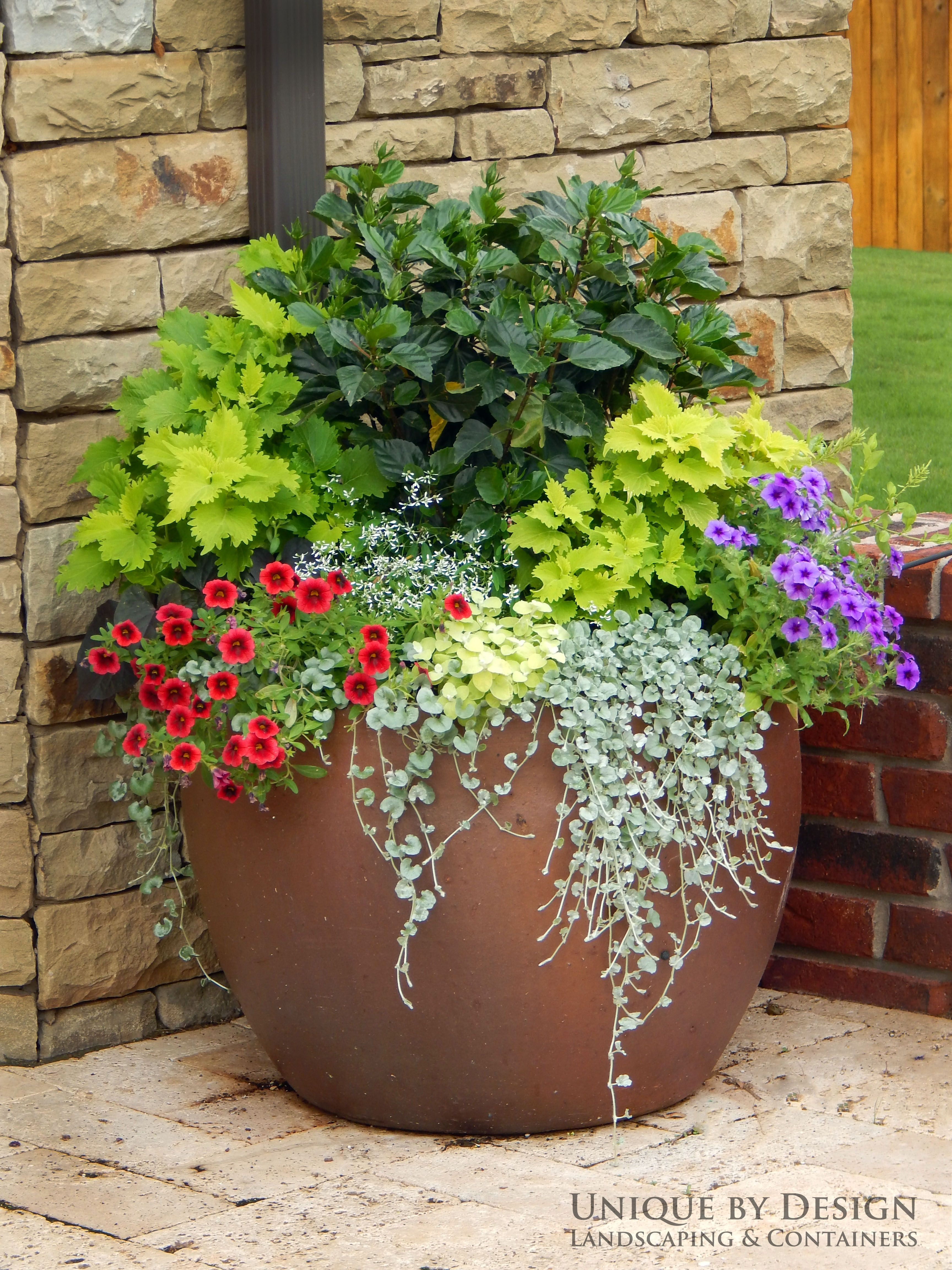 Unique Outdoor Flower Pots Unique By Design L Helen Weis Garden Container Gardening
