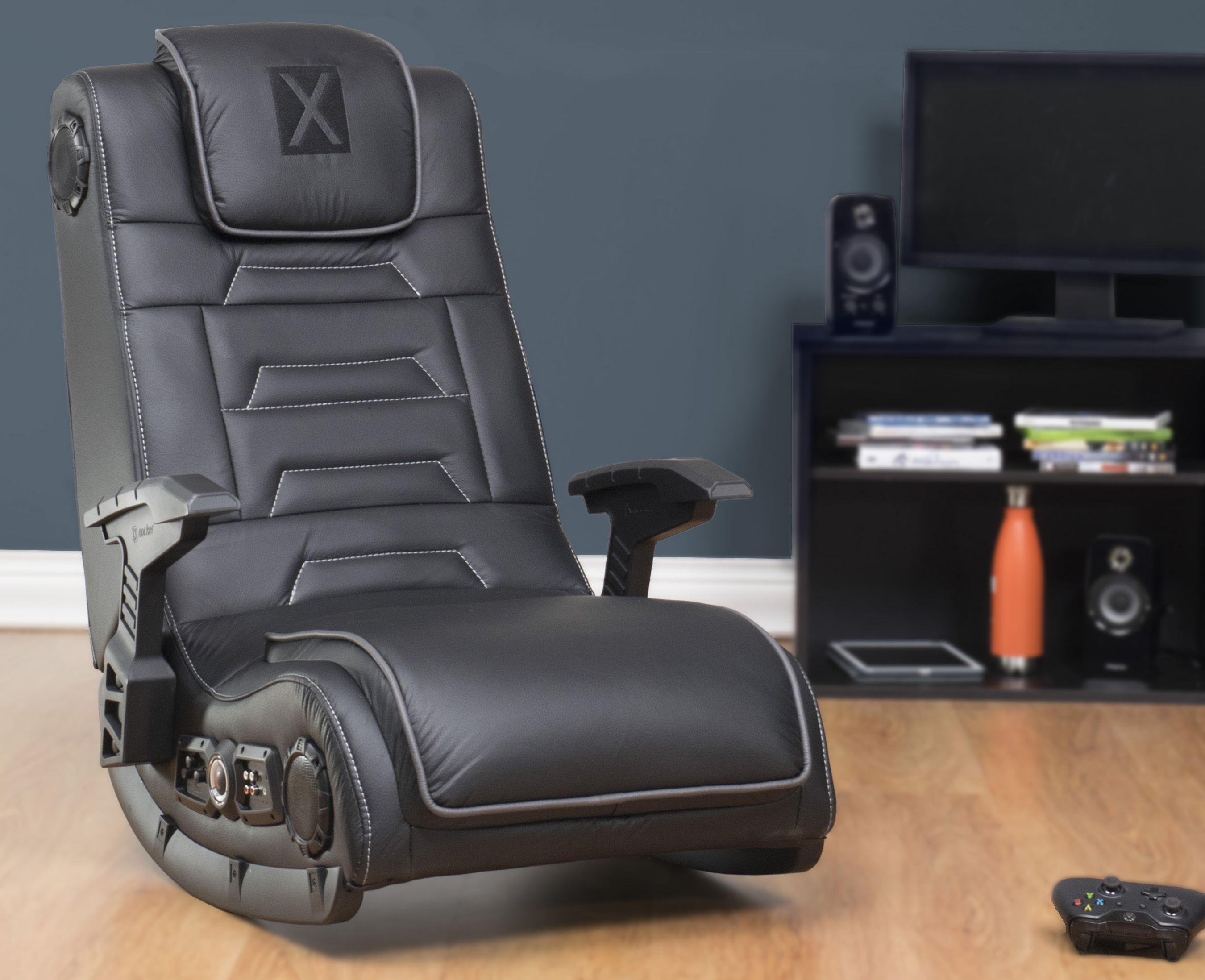 X Rocker Pro Series H3 Wireless Gaming Chair Rocker W 4 1 Speakers Walmart Com Gaming Chair Game Room Design Game Room Decor