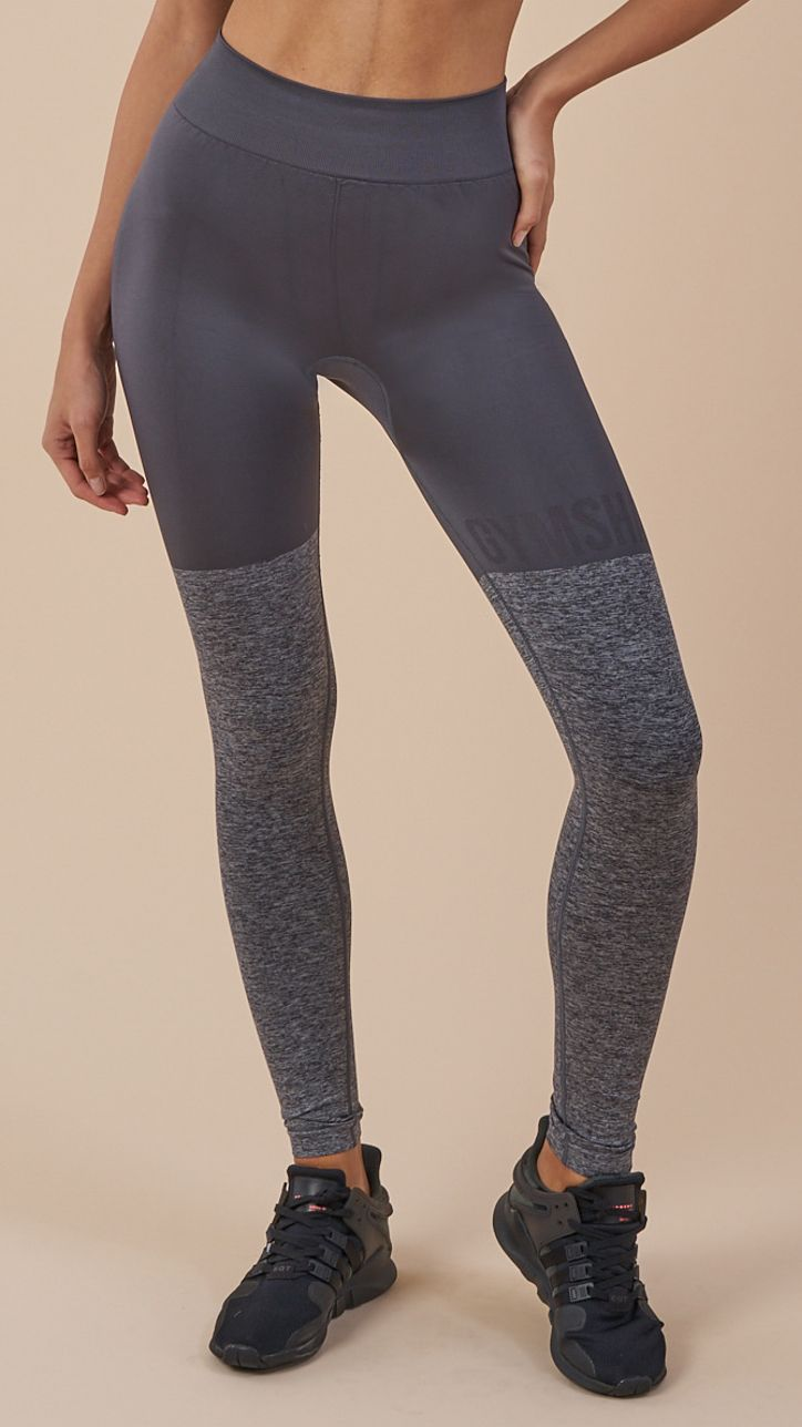 ae37c47f81009d With a high waist fit, rib detailing and glute-enhancing seams, the  Gymshark Seamless TwoTone Leggings offer supreme support, whilst our DRY  technology ...