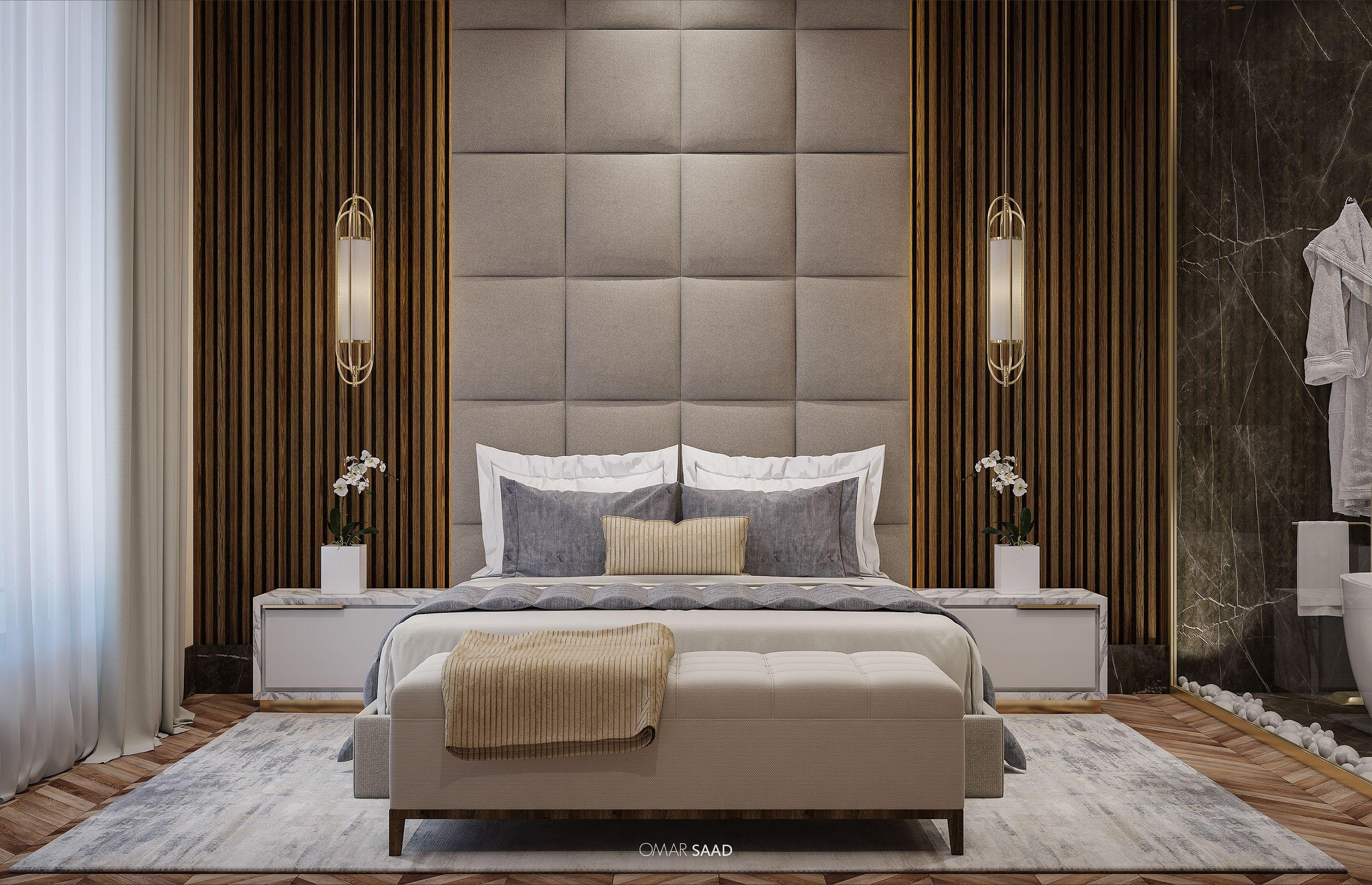 Master Bedroom Suite Interior Design On Behance In 2020 Luxurious Bedrooms Modern Bedroom Master Bedroom Design