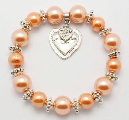 PandaHall Jewelry—Glass Bracelets with Tibetan Silver Beads and Pendants   PandaHall Beads Jewelry Blog