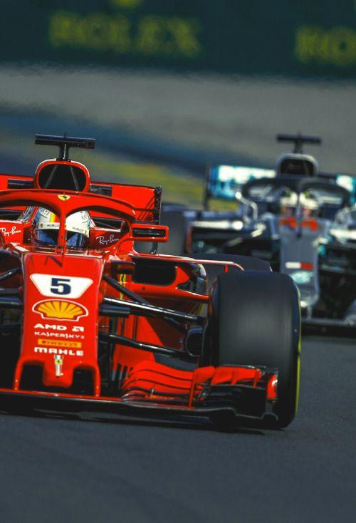 Sebastian Vettel Australia 2018 Formule 1 Formule 1 Voiture Voitures Rapides