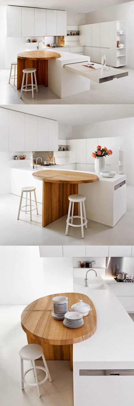 9 Sliding Table Ideas Kitchen Interior Modern Kitchen Kitchen Design