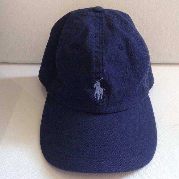 9df63019e803 Polo Ralph Lauren hat New Navy Blue polo hat with light blue polo symbol  Polo by Ralph Lauren Accessories Hats