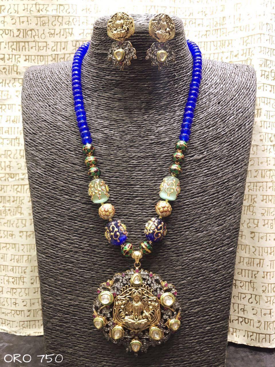 Beads lakshmi pendant manas pinterest pendants beads and products